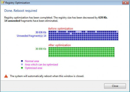 Registry Life optimization