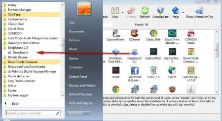 Revo Uninstaller app uninstall not available