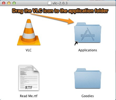 how to install vlc player mac