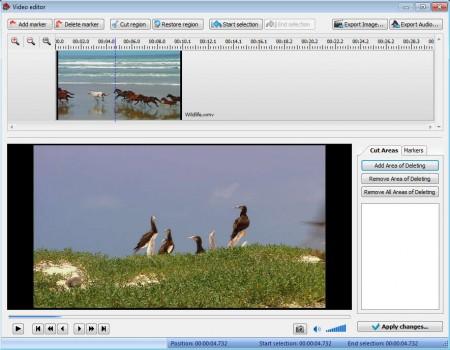 VSDC Free Video Converter video editor