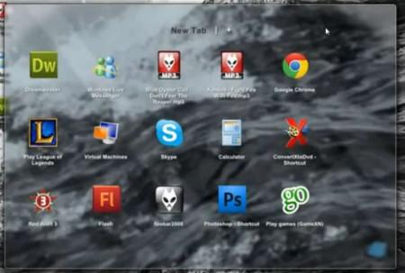 ViPad default window