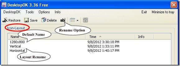 desktop ok options