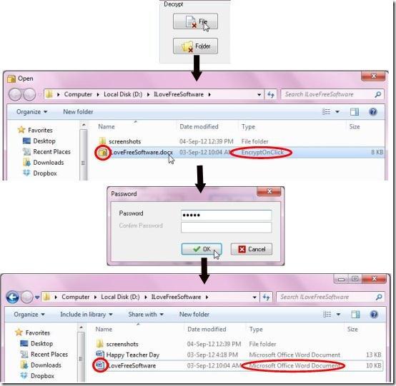 encryptonclick decrypt file