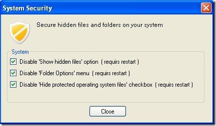 folder locker security