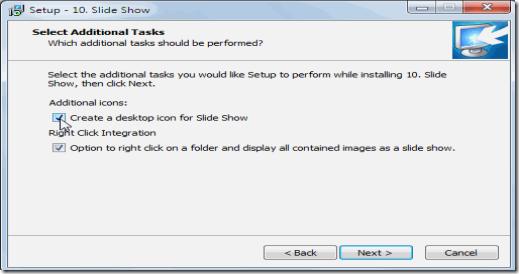 10.Slideshow install image