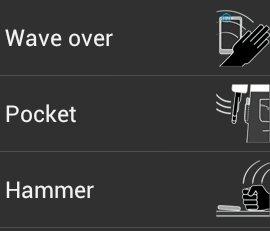 sensor player controlling options
