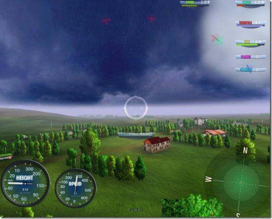 sky battle shoot