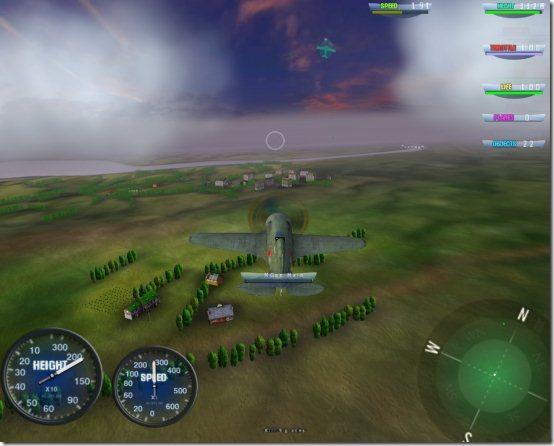 sky battle view