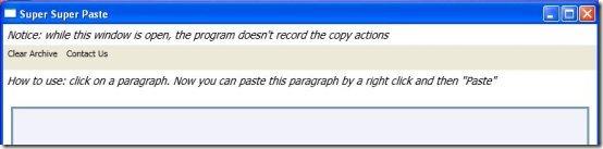 super copy paste copied interface