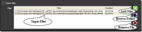 ultimate video converter input files