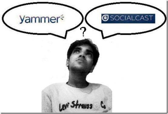 yammer vs socialcast