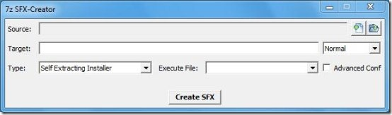 Create Self Extracting Archives And Installers: 7z SFX-Creator