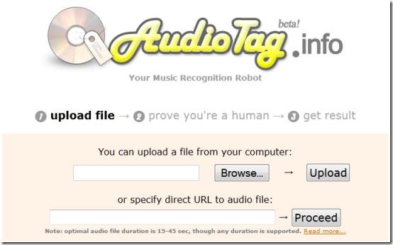 AudioTag-online-music-recognition