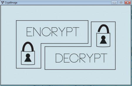 CryptImage default window