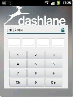 Dashlane Pinlock