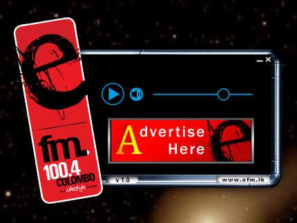 EFM Radio Player desktop client for online radio
