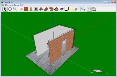 Energy3D creating building 3D