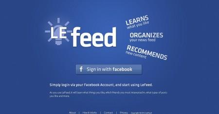 Organize feeds