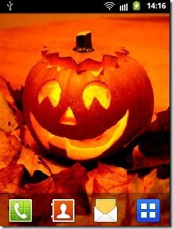Halloween Live Wallpaper App Android