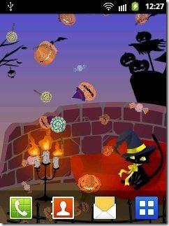 Halloween Live Wallpaper App