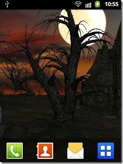Halloween Live Wallpaper FREE
