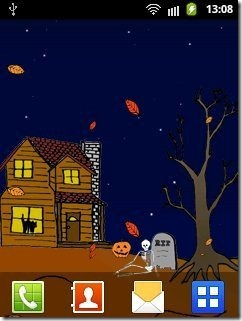 Halloween Live Wallpaper Free app