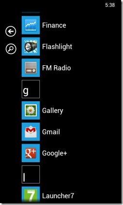 Launcher 7 Windows