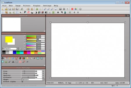 LodePaint free painting software