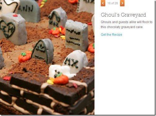Martha Stewart Halloween recipes