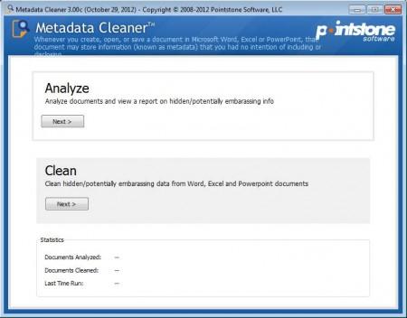 Metadata Cleaner to remove metadata