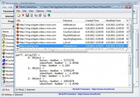 NirLauncher browser tools
