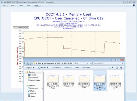 OCCT test report