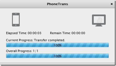 PhoneTrans Export import