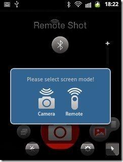 Remote Shot Remote camera