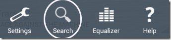 Rocket Music Player Search