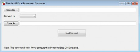 Simple Excel Converter to convert excel to PDF