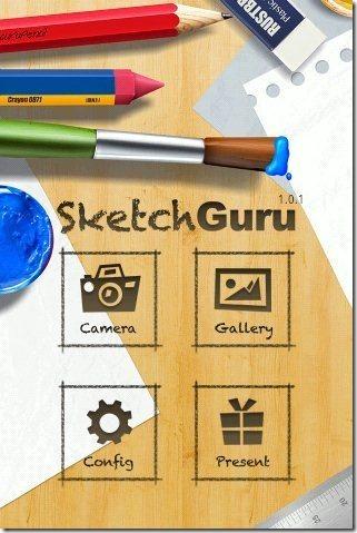 Sketch Guru App