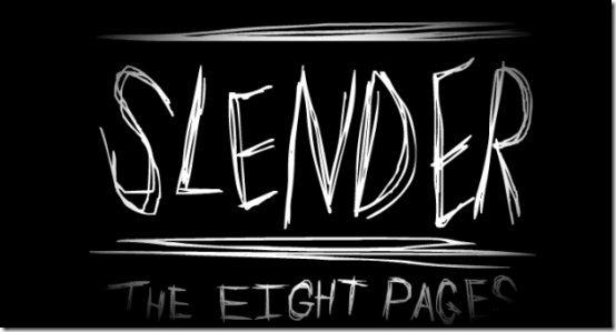 Slender horror game