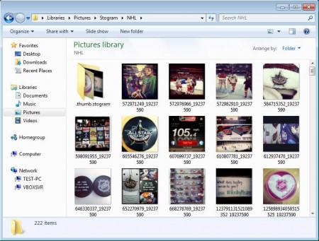 Stogram images downloaded