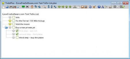 ToDoPlus added sub-tasks added check marks