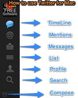 Twitter sidebar mac