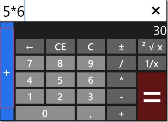 Windows 8 calculator