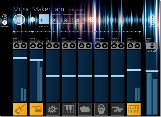Windows8musicmaker
