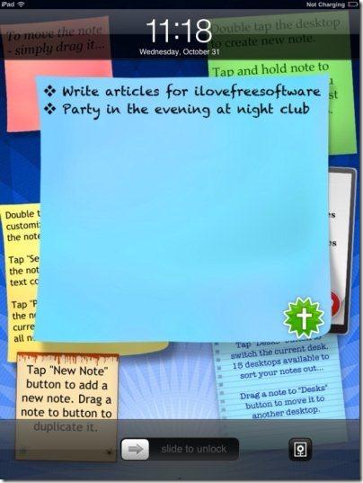 abc Sticky Notes