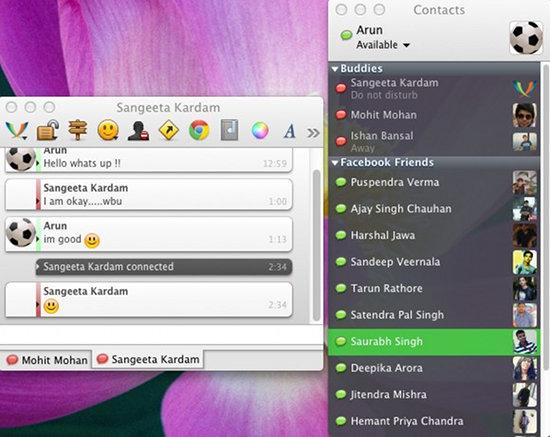 adium interface screenshot