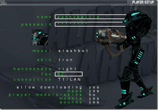 alienarena player