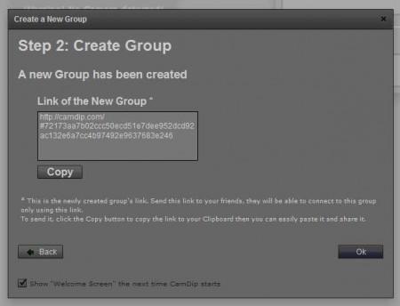 campdip.com creating group