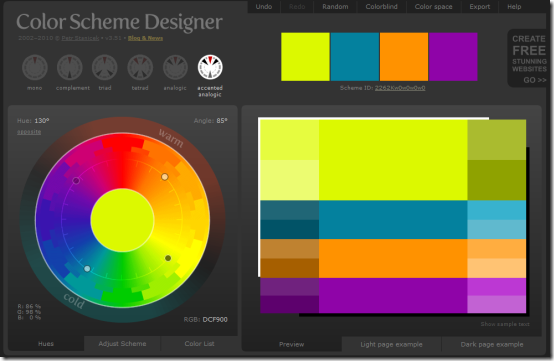 5 Online Color Selector Websites To Design Color Palettes,Painting An Accent Wall