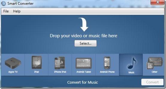 convert videos smart converter