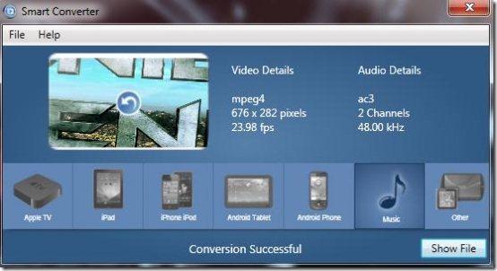 convert videos software